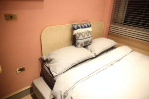 標準雙人房_室內空間_單人床格局