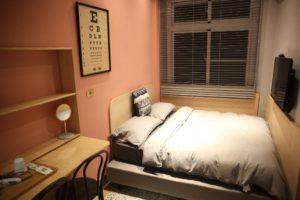 標準雙人房_室內空間_單人床
