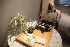 標準雙人房_室內空間_盥洗用具擺設